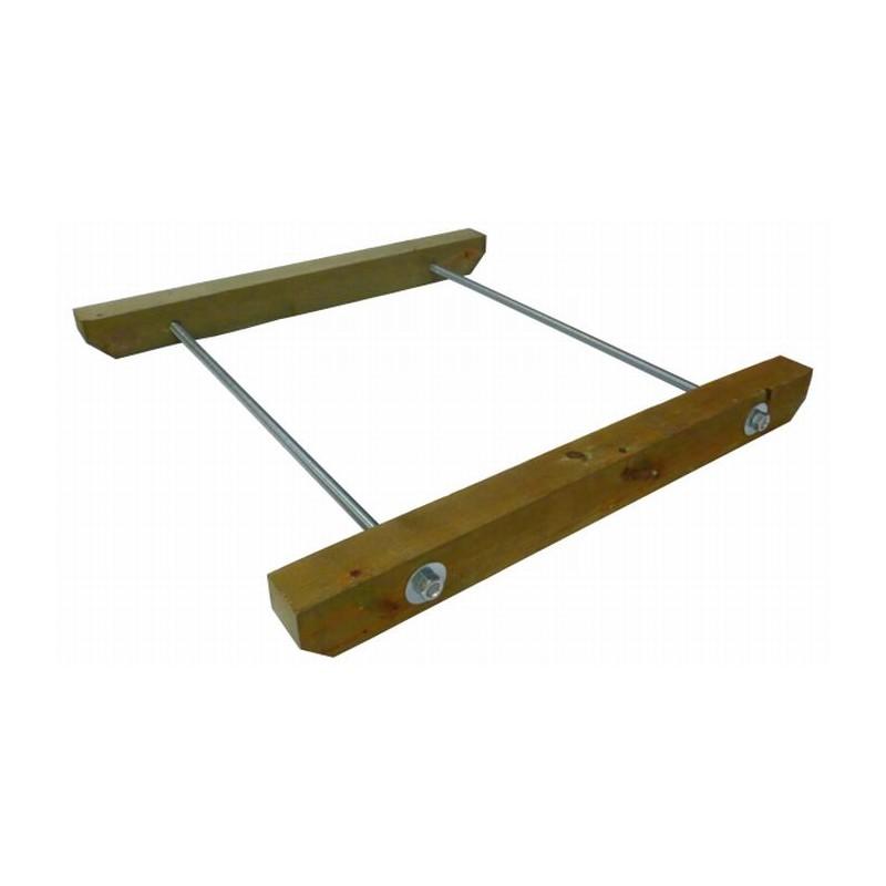 Anclaje superior escalera de cuerda tu parque online - Escaleras de cuerda ...